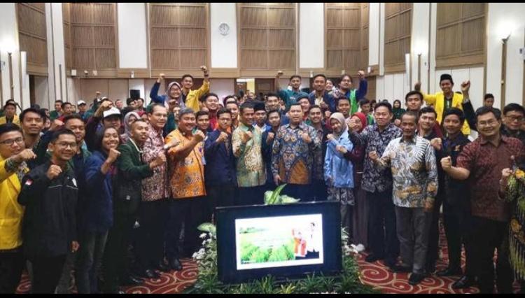Kementerian Pertanian bersama Mahasiswa Pertanian seluruh Indonesia untuk menghadiri kegiatan sosialisasi RUU Karantina Hewan, Ikan dan Tanamam serta RUU Sistem Budidaya Pertanian Berkelanjutan (SBPB) yang disahkan DPR-RI tepat pada Hari Tani Nasional 24 September 2019, Jum'at (27/9/19).