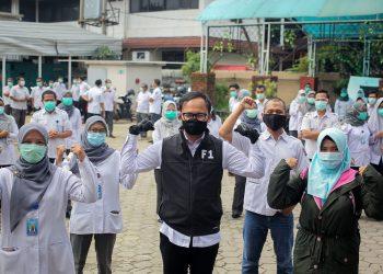 Menengok Kesiapan RSUD Kota Bogor, Bima Arya Semangati Tenaga Kesehatan
