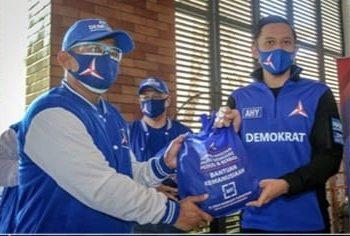 Demokrat Kota Bogor Salurkan 1000 Paket Sembako dari AHY