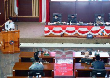 DPRD Kota Bogor memberikan dukungan terhadap Rancangan Peraturan Daerah (Raperda) tentang Pencabutan 7 Peraturan Daerah.
