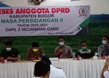 Reses Masa Persiidangan II  Dewan Kab. Bogor