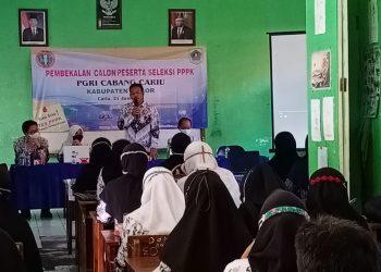Asep Sutiana, M.Pd Ketua PGRI Cabang Cariu.